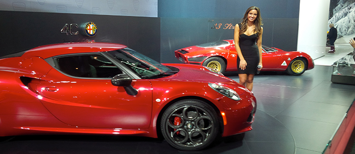 """The """"North American International Auto Show"""" in Detroit"""