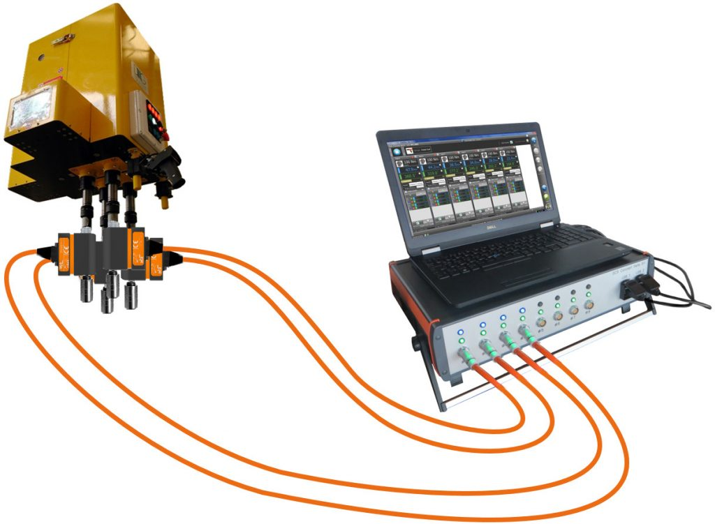 MTC-P Multichannel torque/angle analyzer