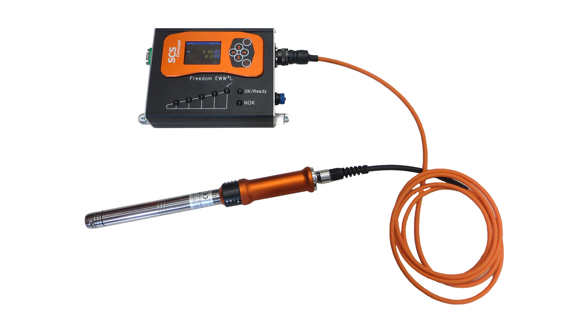 Digital torque wrench for production