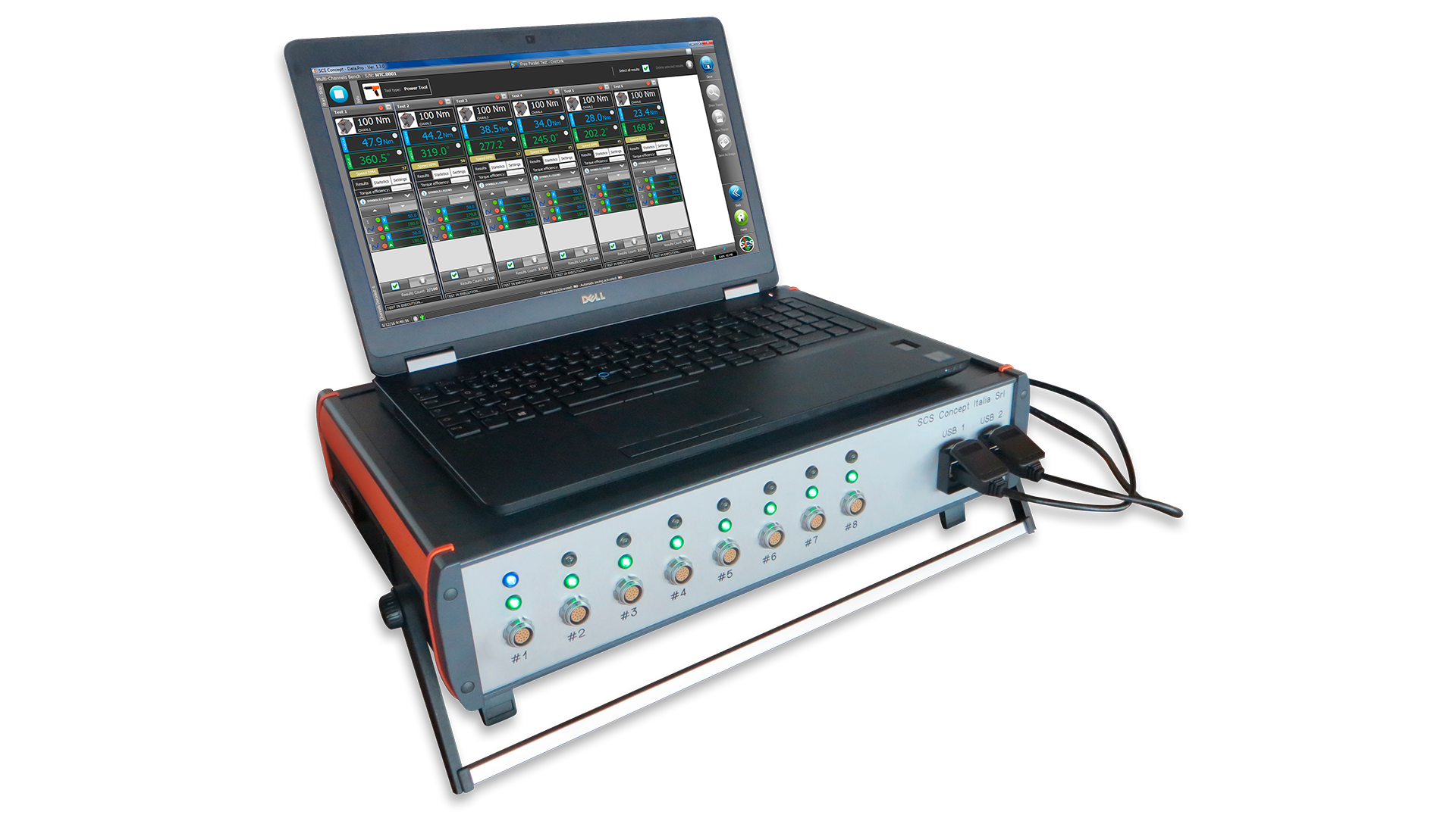 MTC-P Torque angle multichannel analyzer