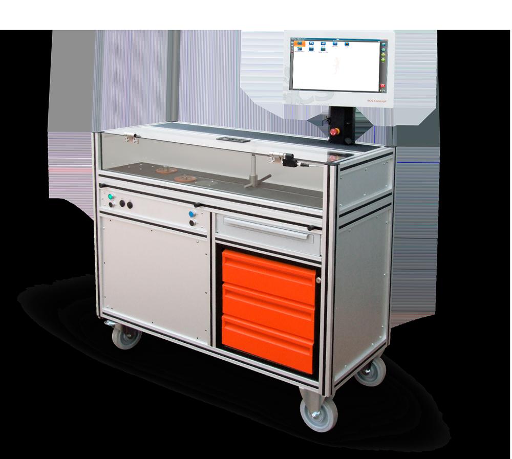 AWT – Test automatico di chiavi dinamometriche