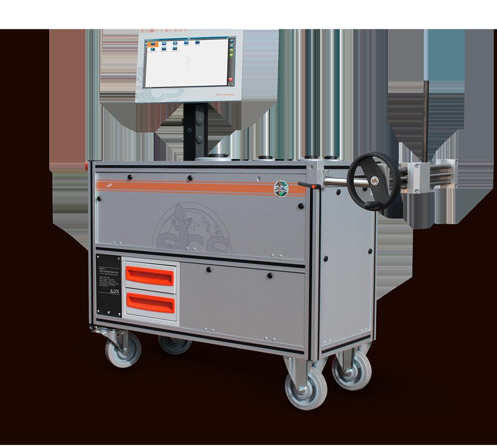 MSB – Statischer Prüfstand für Drehmomentschlüssel und Impulsschrauber