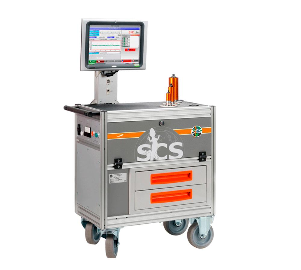 Microbanco de pruebas estaticas de llaves y herramientas de impulsos