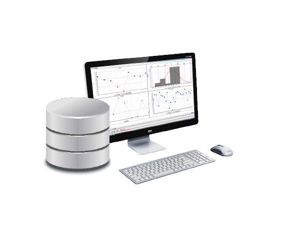 SQnet Qualitätskontrollen-Managementsoftware für Produktionslinien