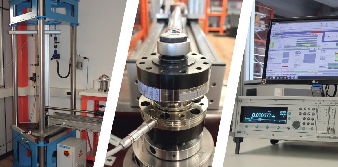 Torque / Angle Calibration Laboratory