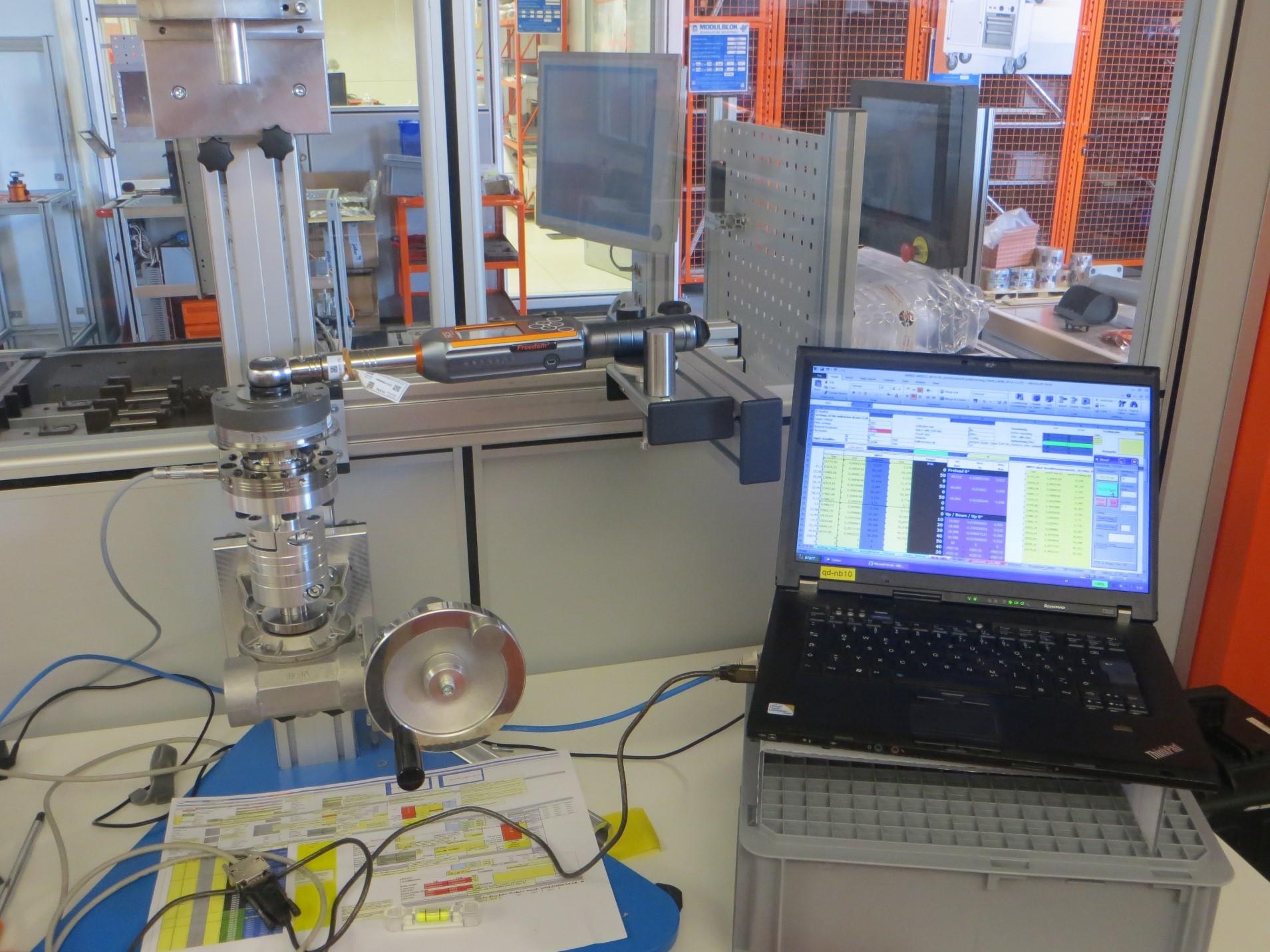 Procedimentos de calibração de torque SCS Concept