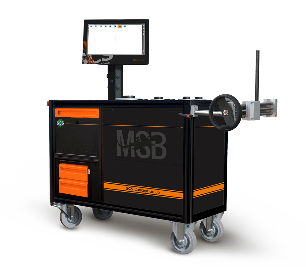 MSB – Static transducers test bench