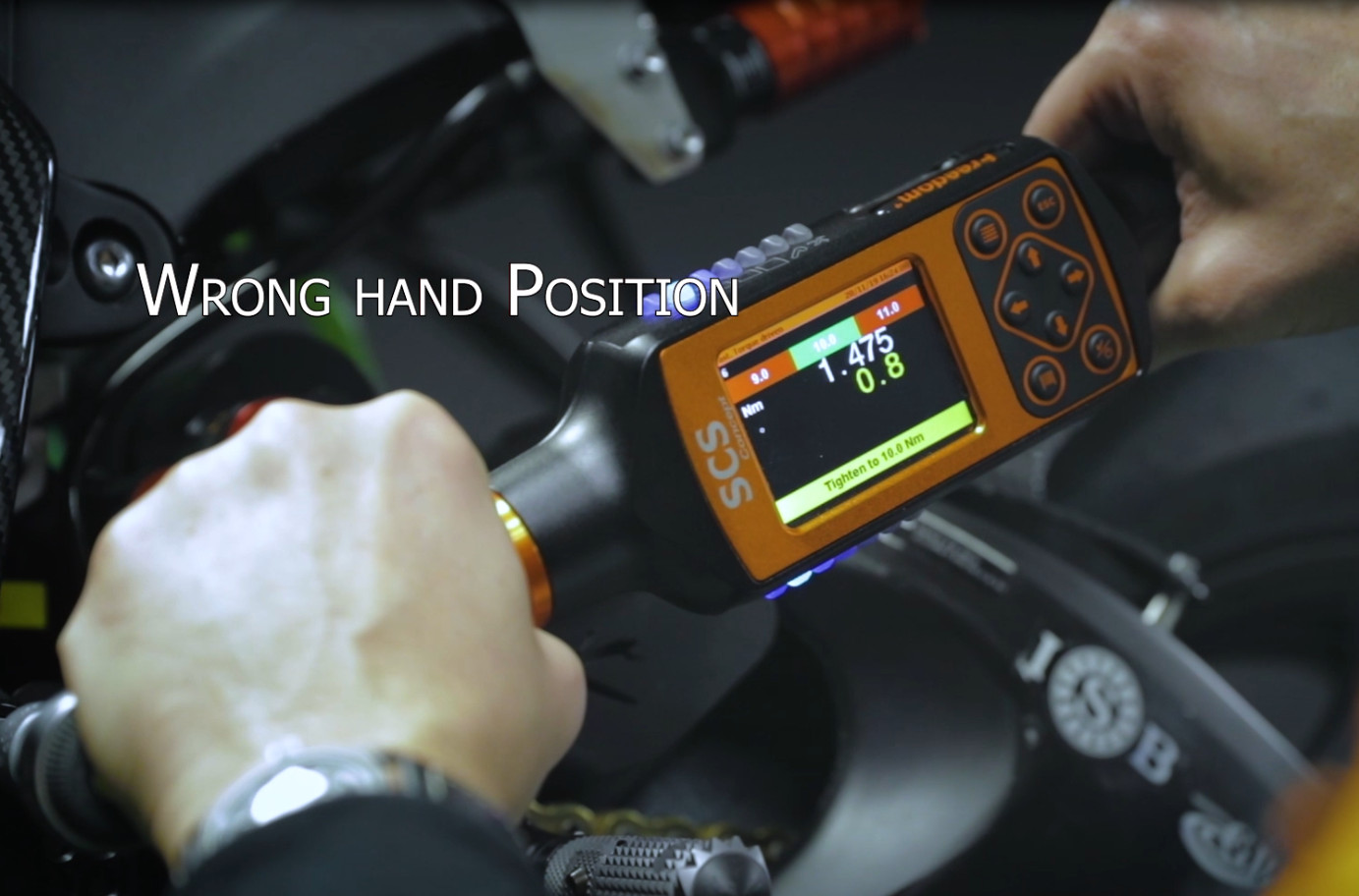 Freedom4: Hand position automatic recognition