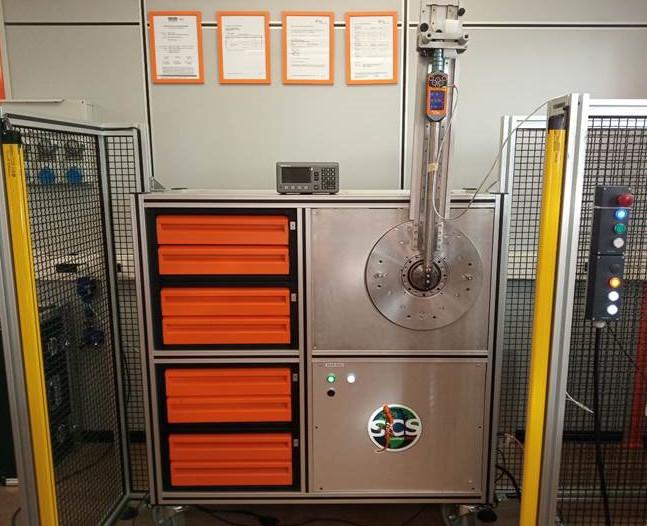 Laboratorio mobile taratura coppia angolo ISO 17025