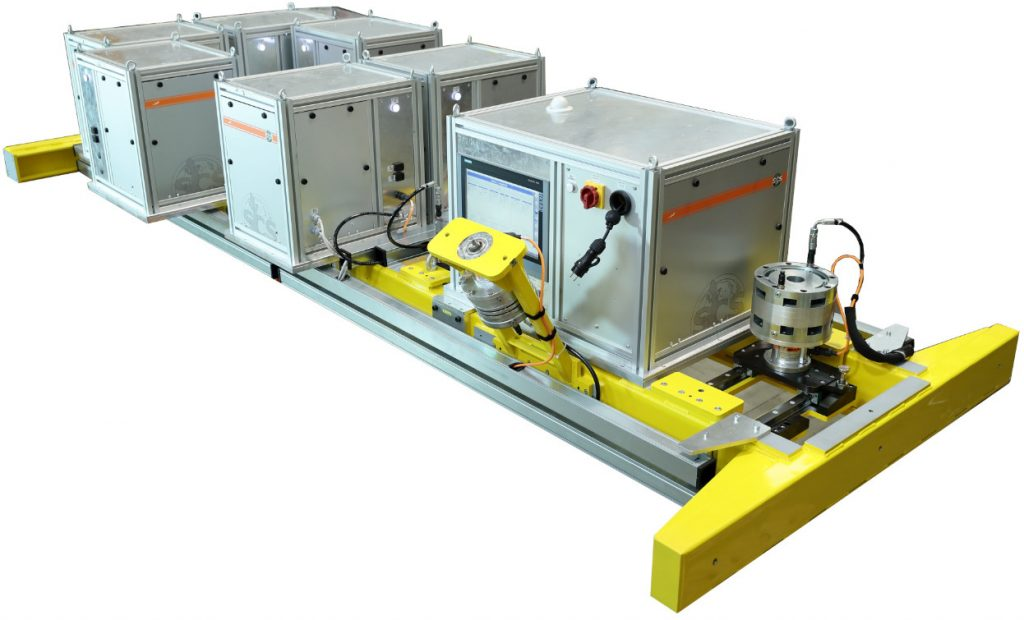 Multi FTY - Automatic test for robots on production line